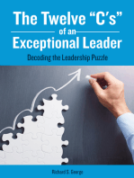"""The Twelve """"C's"""" of an Exceptional Leader"""