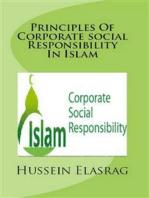 Principles of Corporate Social Responsibility in Islam