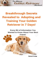 The Ultimate Golden Retriever Handbook