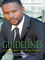 Guidelines for start-up businesses