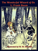 The Illustrated Wonderful Wizard of Oz