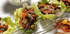 Pork In Lettuce Wraps Gets A Texas Twist