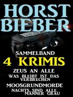 Sammelband 4 Horst Bieber Krimis