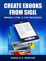 Create eBooks from Sigil: Minimum HTML & CSS Required