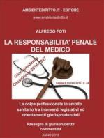 La responsabilità penale del medico.