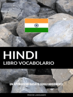 Libro Vocabolario Hindi