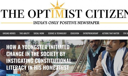 Indias Only Positive Newspaper Brings Readers A Dose Of Hope Scribd