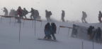 Powerful Winds Delay More Olympic Skiing Events And Force Park's Closure