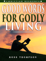 Good Words For Godly Living