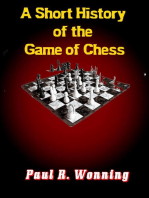 A Short History of the Game of Chess
