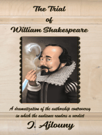 The Trial of William Shakespeare