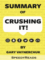 Summary of Crushing It By Gary Vaynerchuk