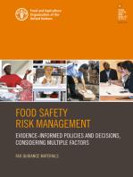 Food Safety Risk Management