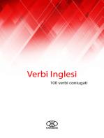 Verbi inglesi (100 verbi coniugati)