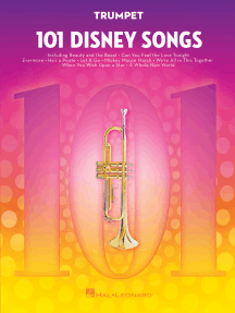 101 Disney Songs: for Trumpet
