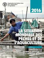 La situation mondiale des pêches et de l'aquaculture 2016