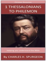 1 Thessalonians to Philemon