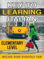 Key To Learning Italian