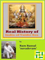 Real History of India of Vaidic Era