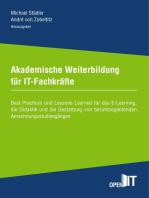 Akademische Weiterbildung für IT-Fachkräfte