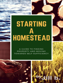 Starting a Homestead: A Guide to Finding Property and Moving Toward Self-Sufficiency: How to Homestead, #1
