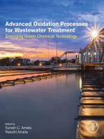 Advanced Oxidation Processes for Wastewater Treatment