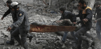Syrian Barrage Buries Civilian Areas