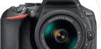 Nikon D5600 £730/$800 with 18-55mm AF-P lens