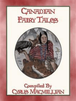 CANADIAN FAIRY TALES - 26 Illustrated Native American Stories