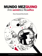 Mundo mezquino: Arte semiótico filosófico