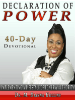 40 Day Declaration Of Power