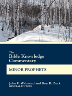 The Bible Knowledge Commentary Minor Prophets