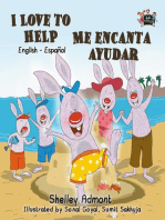 I Love to Help Me encanta ayudar (Spanish Children's Book)