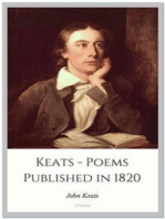 Keats - Poems Published in 1820