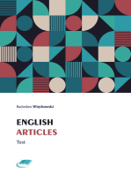 English Articles Test
