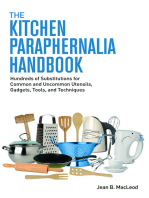 The Kitchen Paraphernalia Handbook