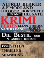 1339 Seiten Thriller Spannung - Krimi Ferien Sammelband