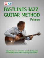Fastlines Jazz Guitar Method Primer: Fastlines Guitar Methods, #1
