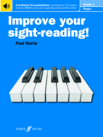 Improve Your Sight-Reading! Piano Grade 1