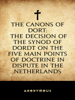 The Canons of Dort