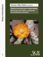 El Diseño Universal para el Aprendizaje: Educación para todos y prácticas de Enseñanza Inclusivas
