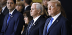 Trump Lauds Billy Graham As The Evangelist Is Brought To Lie In Honor In The Capitol Rotunda