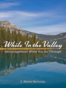 While In The Valley Encouragement While You Go Through