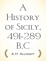 A History of Sicily, 491-289 B.C
