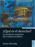 ¿Qué es el derecho?: La moderna respuesta del realismo jurídico