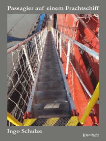 """Passagier auf einem Frachtschiff: 49 Tage auf einem Containerschiff der """"Hamburg-Süd"""""""