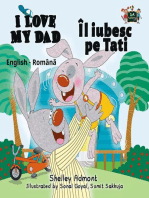 I Love My Dad Îl iubesc pe Tati (Romanian Children's Book)