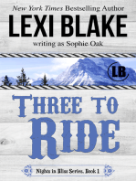 Three to Ride, Nights in Bliss, Colorado, Book 1