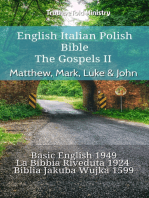 English Italian Polish Bible - The Gospels II - Matthew, Mark, Luke & John
