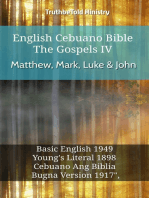 English Cebuano Bible - The Gospels IV - Matthew, Mark, Luke & John
